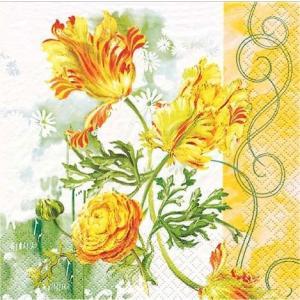 HOME FASHION ドイツ ペーパーナプキン Tulip Art 2枚 211121 デコパージュ ドリパージュ|ccpopo