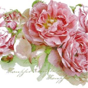 Home Fashion ペーパーナプキン ドイツ製 Mary Roses 211253 2枚 デコパージュ ドリパージュ|ccpopo
