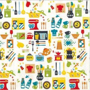 かわいいペーパーナプキン ドイツ製キッチンミックス 211522 2枚