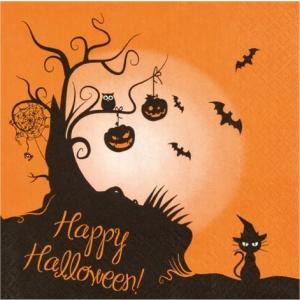 かわいいペーパーナプキン ドイツ製 2 in1 ハロウィーン ハロウィン Halloween 211526 2枚 デコパージュ ccpopo