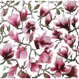 Home Fashion ドイツ ペーパーナプキン Magnolia モクレン 211618 デコパージュ ドリパージュ|ccpopo