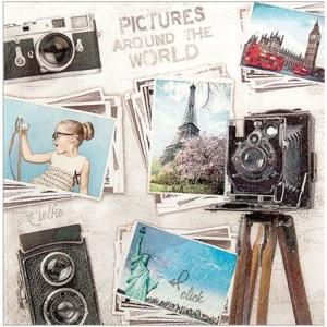 かわいいペーパーナプキン Travelpictures 旅の写真 211633 デコパージュ ccpopo