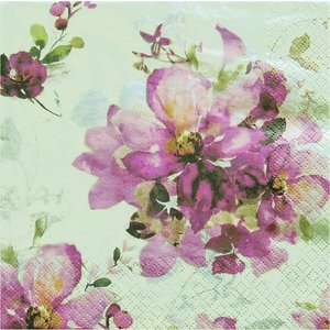 HOME FASHION ペーパーナプキン Ofelia 211703 バラ売り2枚1セット デコパージュ ドリパージュ|ccpopo