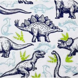 HOME FASHION ペーパーナプキン 恐竜 Dinosaurs 211818 バラ売り2枚1セット デコパージュ ドリパージュ|ccpopo