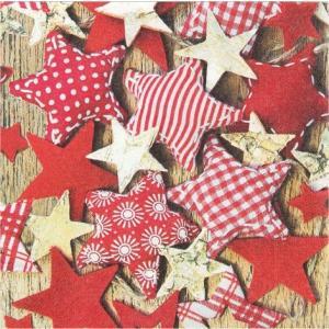 かわいいペーパーナプキン ドイツ製 Handmade Stars 611400 2枚 デコパージュ ドリパージュ|ccpopo