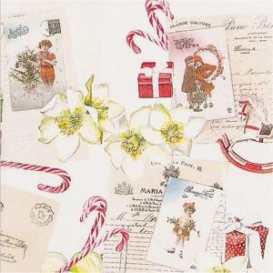 かわいいペーパーナプキン ドイツ製 Vintage Wishlist 611521 2枚 デコパージュ ドリパージュ|ccpopo