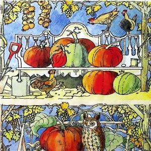 Emma Bridgewater イギリス ペーパーナプキン パンプキンタイム かぼちゃ 秋柄 PUMPKIN TIME バラ売り2枚1セット L-837100 デコパージュ ドリパージュ|ccpopo