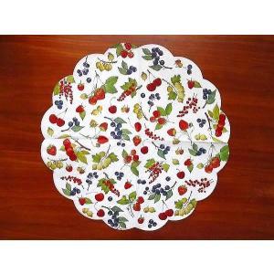 IHR ドイツ ペーパーナプキン ラウンド サークル 円型 バラ売り2枚1セット 夏の果物 フルーツ FRUITS OF SUMMER R597500 デコパージュ ドリパージュ ラッピング|ccpopo
