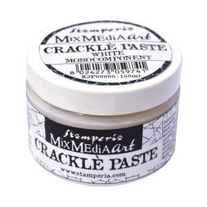 スタンペリア Stamperia クラックルペースト 150 ml Crackle Paste K3P37 アンティーク調のひび割れを演出|ccpopo