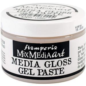 スタンペリア Stamperia メディアグロスジェルペースト 150 ml K3P39 Media Gloss Gel Paste|ccpopo