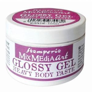 スタンペリア Stamperia GlossyGel ヘビーボディペースト 150 ml Heavy Body Paste K3P43 光沢 透明|ccpopo
