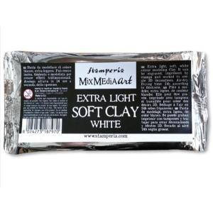 スタンペリア Stamperia ソフトクレイ プロフェッショナル向け軽量粘土 Soft Clay 160g White K3P44 正規輸入品|ccpopo