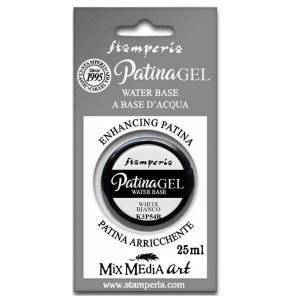 スタンペリア Stamperia パティナジェル シャドー 影 アンティーク効果 Patina Gel in blister 25ml White K3P54B 正規輸入品 エージング効果 ccpopo