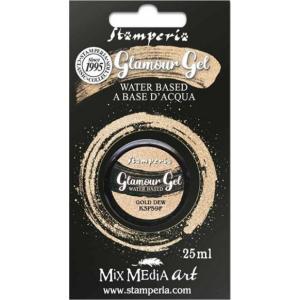 スタンペリア Stamperia イタリア グラマージェル Glamour Gel 25ml 金のしずく Gold dew K3P59F 2019秋冬|ccpopo