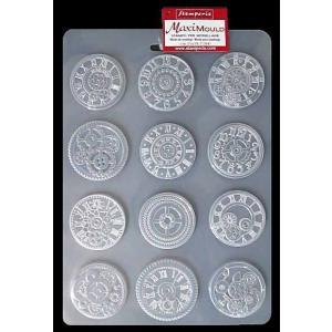 スタンペリア Stamperia イタリア A4 モールド 樹脂粘土型 抜き型 レジン型 ねんど型 彫刻 Soft Mould A4 メカニズム Mechanisms K3PTA453 SPRING 2019|ccpopo