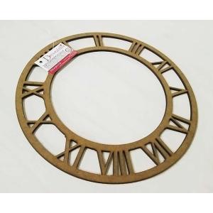スタンペリア Stamperia 時計版・時計板用ナンバープレート MDF 直径21.5cm KF467 ミクストメディア|ccpopo