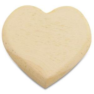 スタンペリア Stamperia イタリア デコパージュ用木製素材 ハート Heart shape plate 10.5cmX11.8cm デコパージュ ミックスメディア|ccpopo