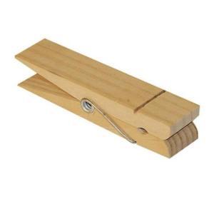 スタンペリア Stamperia イタリア デコパージュ用木製素材 木製洗濯バサミ 洗濯ばさみ ナチュラルピンチ クロスピン 材料 大きいサイズ 約15cm Pin paperweight|ccpopo