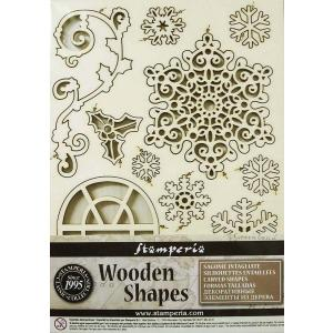 スタンペリア Stamperia イタリア 木製フレーム Wooden frames A5 size KLSP009 ミックスメディアアート|ccpopo