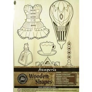 スタンペリア Stamperia イタリア 木製フレーム Wooden frames A5 size KLSP053 クローゼット アクセサリー Corsets and accessories|ccpopo