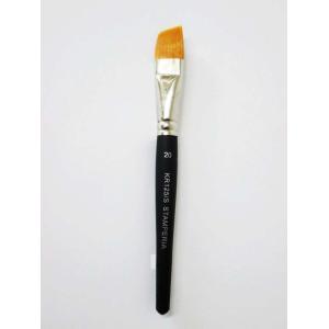 スタンペリア Stamperia イタリア デコパージュ用穂先角度付き平筆 大 Oblique point Brush size 20 KR125/S|ccpopo