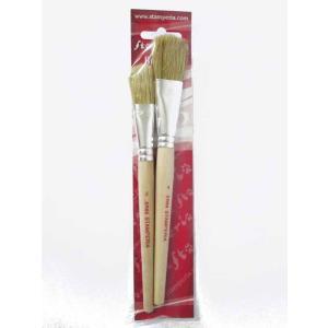 スタンペリア Stamperia イタリア スタンダードブラシ2本セット Set 2 brushes standarino KR86|ccpopo