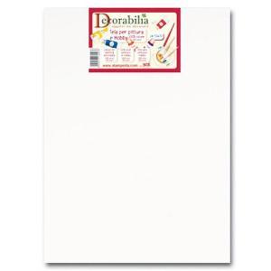 スタンペリア Stamperia イタリア 白い長方形のキャンバス Rectangular canvas 24x30x1.8cm KTL31 正規輸入品|ccpopo