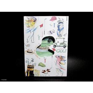 USAリゾムデザイン おしゃれでかわいい グリーティングカード&封筒1組 セット ゴルフ|ccpopo