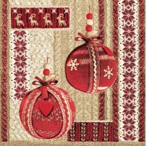 Maki ポーランド ペーパーナプキン Lunch napkins クリスマス用ナプキン バラ売り2枚1セット SLGW-007601