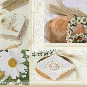 Maki ポーランド ペーパーナプキン 聖餐式 Kommunion バラ売り2枚1セット SLKO-001301 デコパージュ ccpopo