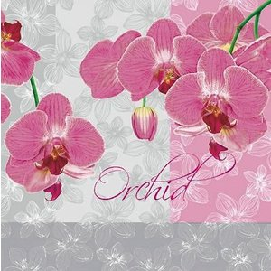 Maki ポーランド ペーパーナプキン rose orched of grey バラ売り2枚1セット SLOG-010001 デコパージュ ドリパージュ|ccpopo