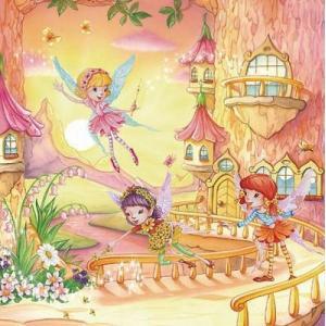 Maki ポーランド ペーパーナプキン Lunch napkins tree Fairy バラ売り2枚1セット SLOG-014501