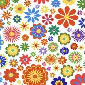 Maki ポーランド ペーパーナプキン 花のパターン柄 バラ売り2枚1セット SLOG-029801 デコパージュ ドリパージュ|ccpopo