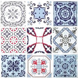 Maki ポーランド ペーパーナプキン Lunch napkins モロッカン柄のタイル Moroccan Tiles バラ売り2枚1セット SLOG033401|ccpopo