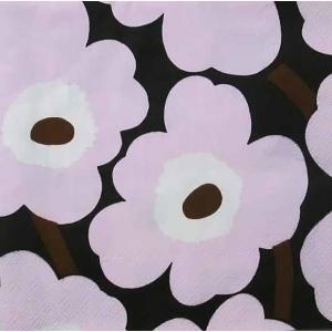 1枚バラ売りペーパーナプキン 2019春夏 マリメッコ Marimekko UNIKKO Rose ランチサイズ 北欧 552656 ドリパージュ デコパージュ|ccpopo
