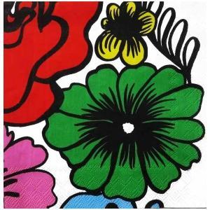 1枚バラ売りペーパーナプキン 2019春夏 マリメッコ Marimekko ELAKOON ELAMA green 33x33cm ランチサイズ 北欧 803820 ドリパージュ デコパージュ|ccpopo