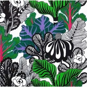 1枚バラ売り25cmペーパーナプキン マリメッコ Marimekko KAALIMETSA green 北欧 紙コースター デコパージュ ドリパージュ 791520|ccpopo
