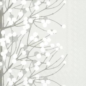 マリメッコ Marimekko ペーパーナプキン LUMIMARJA white 2枚 北欧 L-552900 デコパージュ ドリパージュ ccpopo