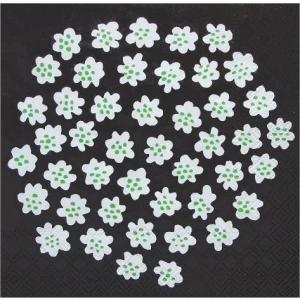 廃盤 マリメッコ Marimekko ペーパーナプキン PUKETTI プケッティ 花束 black 2枚 北欧 L-575707 デコパージュ ドリパージュ ccpopo