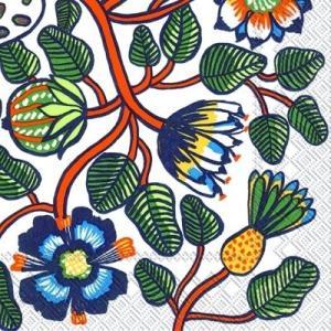 人気マリメッコのペーパーナプキンをバラ売り出品 パーティやお客様のおもてなし、デコパージュ、手芸材料...