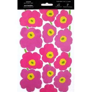 ウニッコとはフィンランド語でポピーのこと。 ポピーの花をモチーフにデザインした柄です。  とてもかわ...