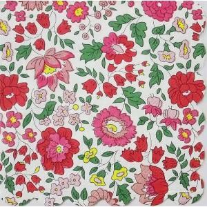 1枚バラ売り25.5cmペーパーナプキン リバティ Meri Meri Danjyo フローラル 花 赤 紙コースター デコパージュ ドリパージュ|ccpopo