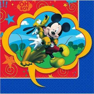 1枚バラ売り25cmペーパーナプキン ミッキーマウス Mickey Mouse ディズニー Disney アメリカ製 2枚重ね 紙コースター デコパージュ ドリパージュ 503844|ccpopo