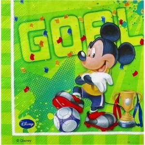 1枚バラ売りペーパーナプキン ミッキーマウス Mickey Mouse Disney ディズニー 紙ナフキン デコパージュ ドリパージュ|ccpopo