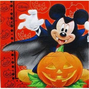 1枚バラ売りペーパーナプキン ミッキーマウス ハロウィン ハロウィーン Halloween Mickey Mouse Disney ディズニー 紙ナフキン デコパージュ ドリパージュ|ccpopo