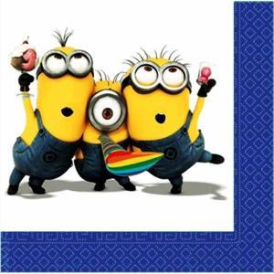 1枚バラ売り人気キャラクター ミニオンズ Minions MADE IN EU ペーパーナプキン 紙ナフキン デコパージュ ドリパージュ 8003921276297|ccpopo
