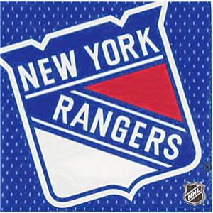 2枚1セット ニューヨーク レンジャース NEW YORK RANGERS アメリカ MADE IN USA ペーパーナプキン 紙ナフキン 2枚重ね|ccpopo