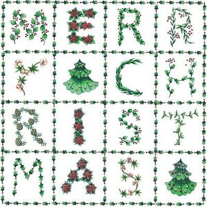nouveau オーストリア ペーパーナプキン クリスマスパズル X-Mas Puzzle 74335 バラ売り2枚1セット