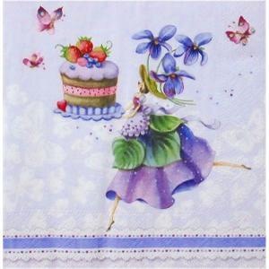 nouveau オーストリア ペーパーナプキン パープルドリーム Purple Dreams 75139 バラ売り2枚1セット デコパージュ|ccpopo