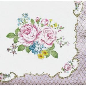 イタリア NUOVA R2S社ペーパーナプキン Lunch napkins HERITAGE バラ売り2枚1セット 414-HERI デコパージュ ドリパージュ|ccpopo